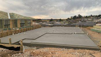 New Home Concrete slab